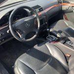 Mercedes (W220) S500 5.0 V8 de 2000 para peças