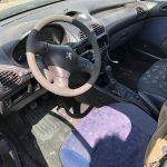 Peugeot 206 1.1i de 1999 para peças